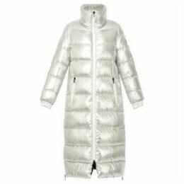 Oakwood  Long down jacket  women's Coat in Silver