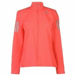 adidas  OTR Running Jacket Ladies  women's Tracksuit jacket in Red