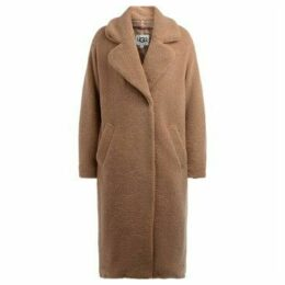 UGG  UGG coat model Charlisse Teddy Bear in camel color  women's Coat in Beige