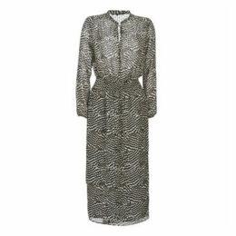Ikks  BP30495-02  women's Long Dress in Beige