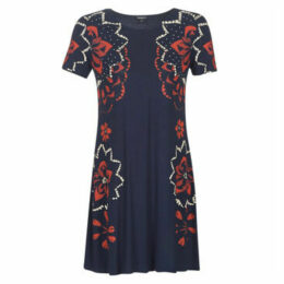 Desigual  ANNA  women's Dress in Blue