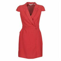 Naf Naf  ESMOK R1  women's Dress in Red