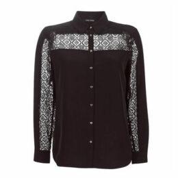 One Step  CARO  women's Shirt in Black