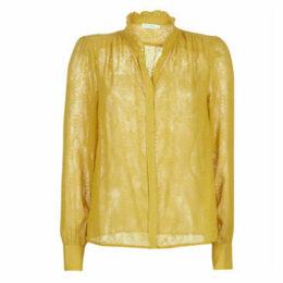 See U Soon  9211173  women's Blouse in Yellow