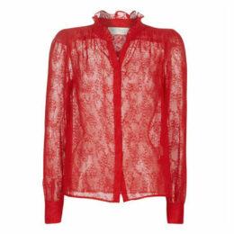 See U Soon  9921117  women's Blouse in Red