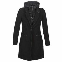 One Step  DRISS  women's Coat in Black