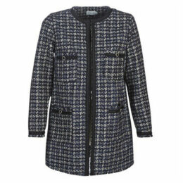 Molly Bracken  HF01A21  women's Coat in Blue