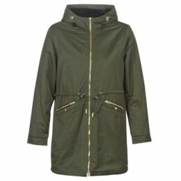 Deeluxe  ROMANE  women's Parka in Green