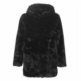 Derhy  GABONBACK  women's Coat in Black