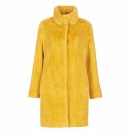 S.Oliver  05-909-52-6644-1543  women's Coat in Yellow