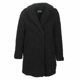 Noisy May  NMGABI  women's Coat in Black