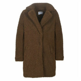 Noisy May  NMGABI  women's Coat in Brown