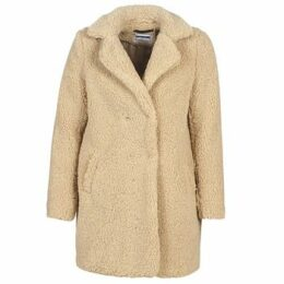 Noisy May  NMGABI  women's Coat in Beige