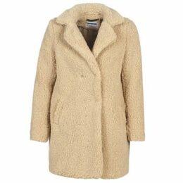 Noisy May  NMGABI  women's Coat in Beige