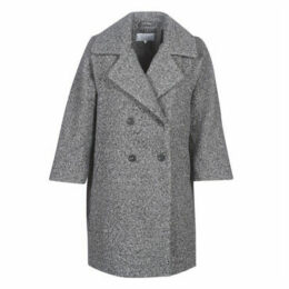 Vila  VIJESSI  women's Coat in Grey