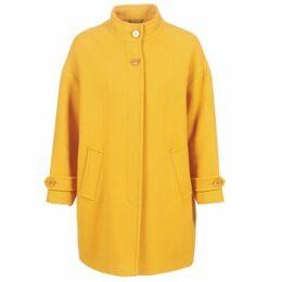 Benetton  STORI  women's Coat in Yellow