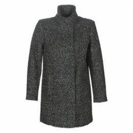 Cream  KUKIMAI  women's Coat in Grey