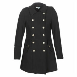Morgan  GUSTIN  women's Coat in Black