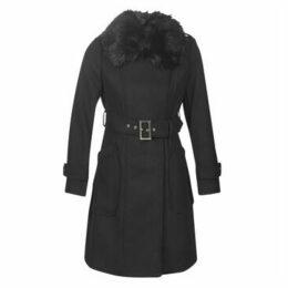 Morgan  GLOW  women's Coat in Black