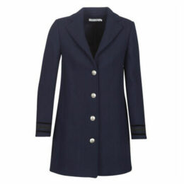 Naf Naf  AMIA M1  women's Coat in Blue