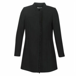 Naf Naf  AMIRROR 1  women's Coat in Black