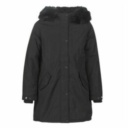Schott  JKTHELENSW  women's Parka in Black