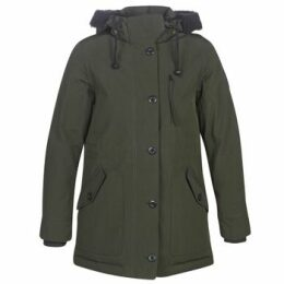 G-Star Raw  NEW DUTY PDD HDD SHORT PARKA WMN  women's Parka in Green