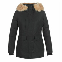 Superdry  ASHLEY EVEREST PARKA  women's Parka in Black
