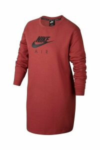 Womens Nike Curve Air Crew Dress -  Pink