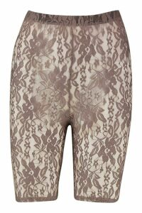 Womens The Lace Cycling Short - beige - 16, Beige