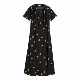 Long Polkadot Dress