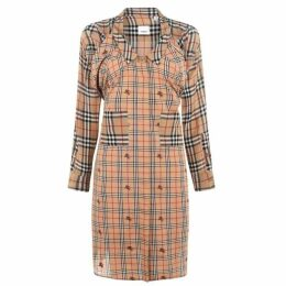 Burberry Multi Check Dress