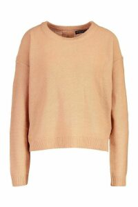 Womens Zip Back Jumper - pink - XS, Pink