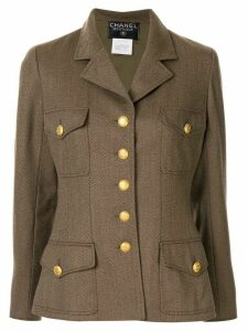 Chanel Pre-Owned 1996's Long sleeve jacket - Brown