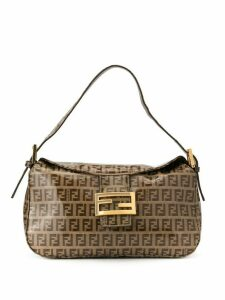 Fendi Pre-Owned Zucca Pattern hand tote - Brown