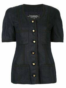 Chanel Pre-Owned Short sleeve jacket - Blue