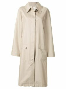 Chanel Pre-Owned 1998 trench coat - Grey