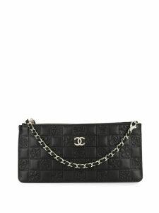 Chanel Pre-Owned Icon CC logos chain handbag - Black