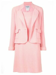 Chanel Pre-Owned 1997's Setup one piece jacket - Pink