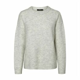 Chunky Knit Crew-Neck Jumper