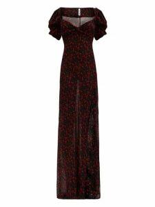 Rat & Boa - Magnolia Floral Print Georgette Maxi Dress - Womens - Multi