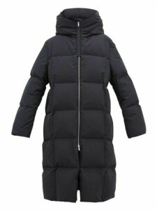 Jil Sander - City Hooded Padded Coat - Womens - Navy