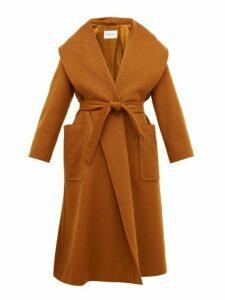 Max Mara - Gufo Coat - Womens - Brown