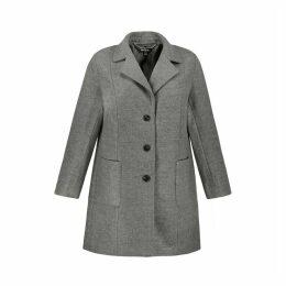 Coat with Pea Collar