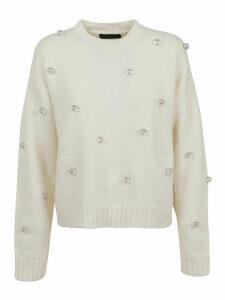 Alanui Below Zero Drops Stud Sweater Lapponia W