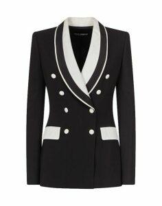 Dolce & Gabbana Dolce & gabbana Double-breasted Contrast Blazer