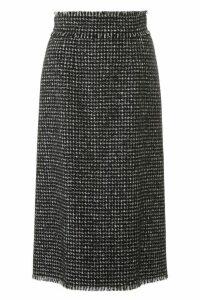 Dolce & Gabbana Houndstooth Midi Skirt