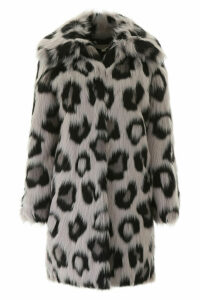 MICHAEL Michael Kors Faux Fur Coat