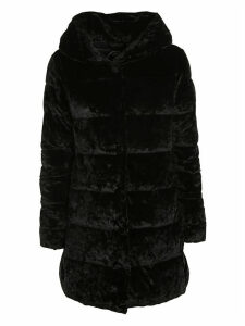 Save the Duck Furry Hooded Padded Parka
