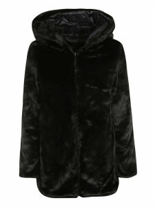 Save the Duck Oversized Furry Hooded Padded Coat